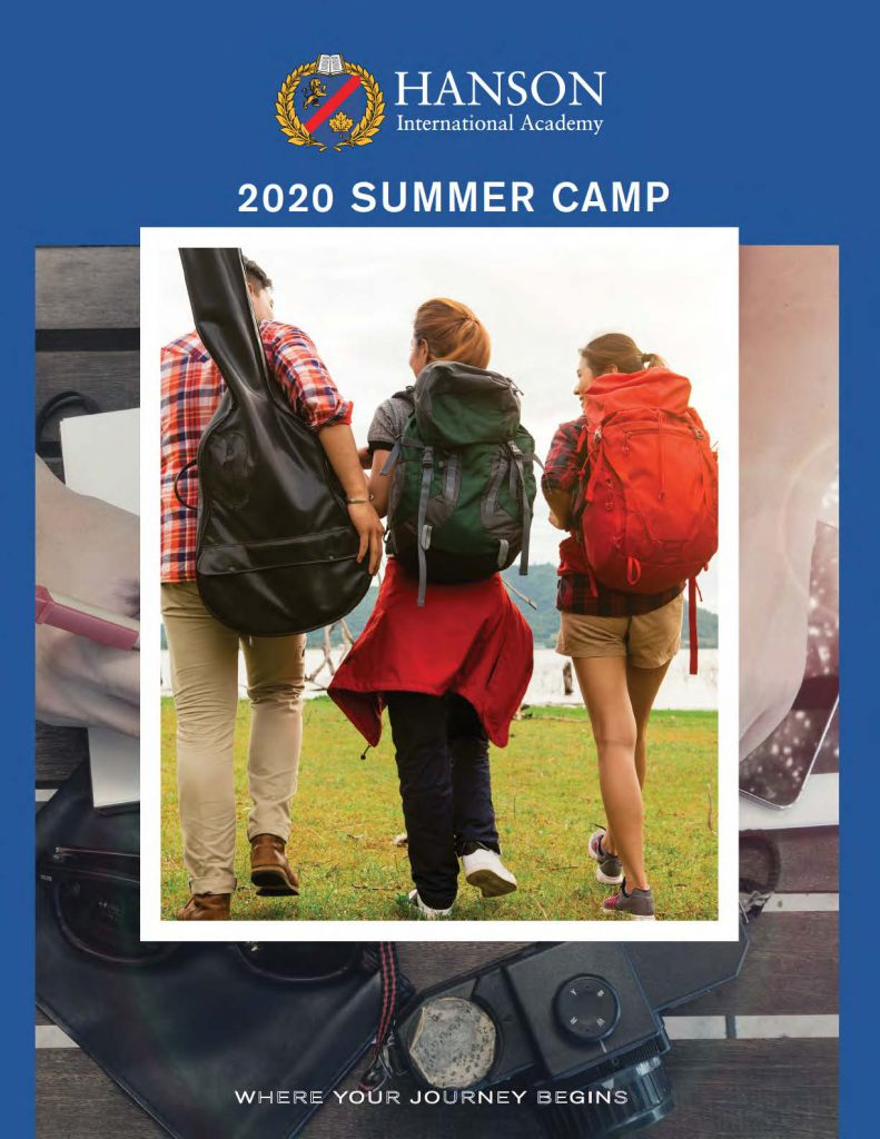 2020 summer camp booklet